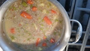Dog Food Recipe Bulgar Green Lentil Carrot Potatoe Celery